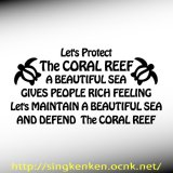 CORAL REEF 海亀 メッセージ