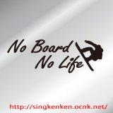 No Board No Life ステッカー