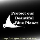 他の画像2: Blue Planet メッセージ&マンタ
