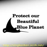 Blue Planet メッセージ&マンタ