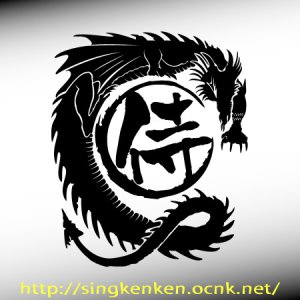 画像1: ドラゴン+侍