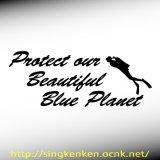 Blue Planet メッセージ&ダイバー
