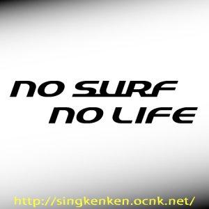 画像1: No Surf No Life