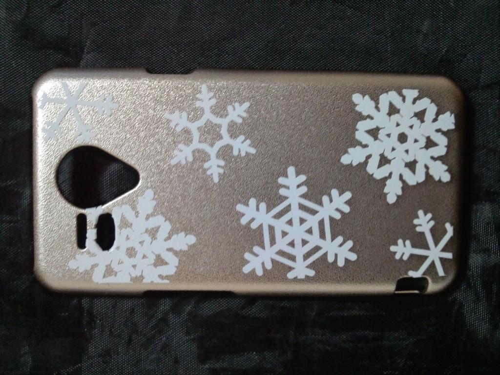 雪の結晶ステッカー
